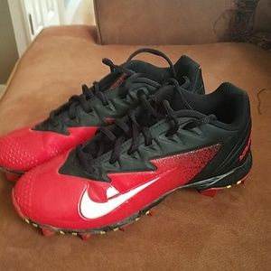 Nike Vapor cleats size 5 youth